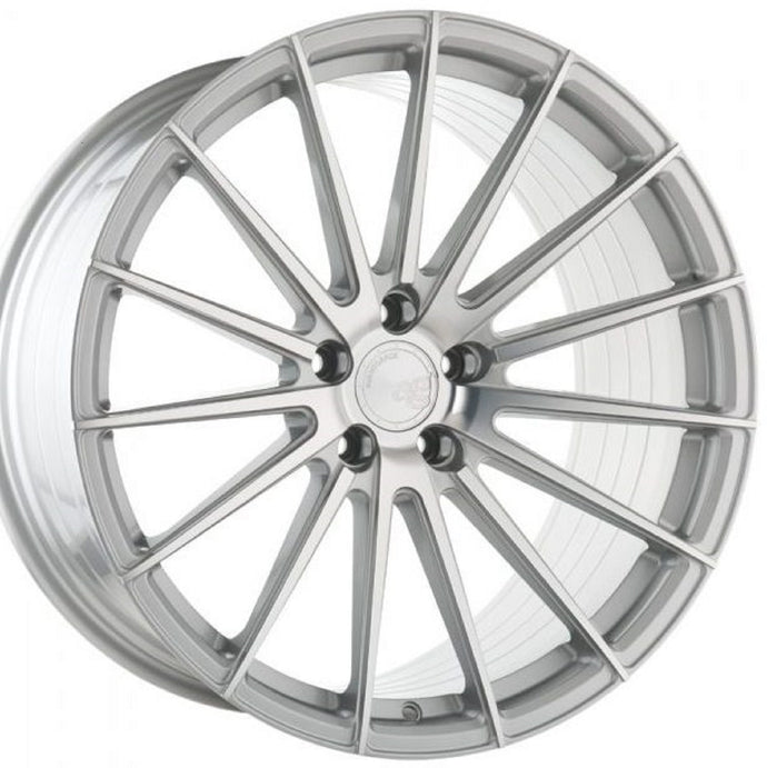 19x8.5 Avant Garde AG M615 forged Silver concave wheels rims by KIXX Motorsports https://www.kixxmotorsports.com
