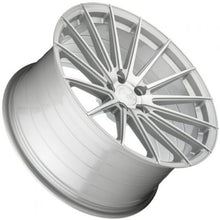 "20"" Silver concave wheels by https;//www.kixxmotorsports.com"