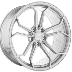 "19"" Avant Garde M632 Silver Concave staggered wheels by KIXX Motorsports https://www.kixxmotorsports.com"