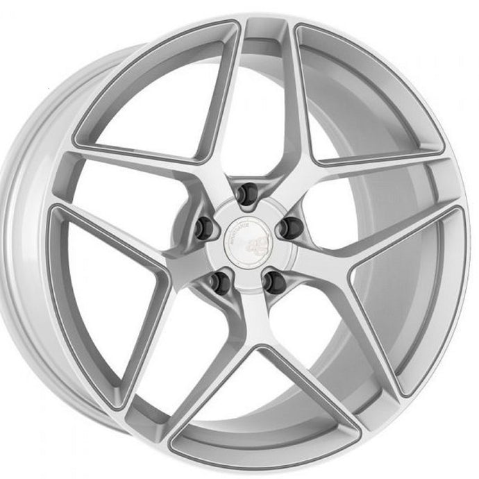 19x10 Avant Garde M650 Silver concave wheels forged rims by KIXX Motorsports https://www.kixxmotorsports.com