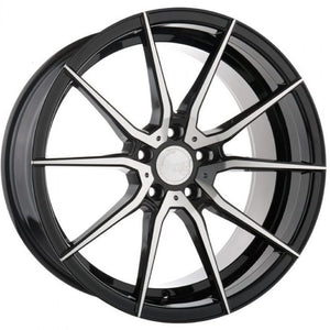 19x9.5 20x11 Avant Garde M652 Machine Black concave wheels for Chevy Corvette C6, C7, Stingray, Z51 by KIXX Motorsports https://www.kixxmotorsports.com