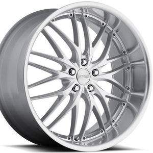 "20"" MRR GT1 Silver Concave Staggered Wheels by Kixx Motorsports https://www.kixxmotorsports.com 4"