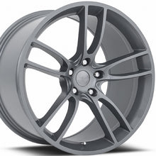 19 MRR M600 Gunmetal Wheels Rims 19x10 19x11 for Ford Mustang by Kixx Motorsports https://www.kixxmotorsports.com