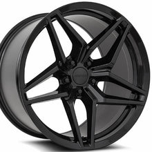 "19"" MRR M755 Gloss Black forged concave staggered Wheels Rims 19x10 19x11 for Chevrolet Camaro by Kixx Motorsports https://www.kixxmotorsports.com"