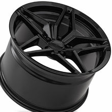 "19"" MRR M755 Gloss Black forged concave staggered Wheels Rims 19x10 19x11 for Chevy Camaro by Kixx Motorsports https://www.kixxmotorsports.com  SS"