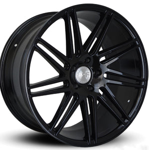 22x9 Road Force RF11 Black concave wheels rim by Kixx Motorsports https://www.kixxmotorsports.com