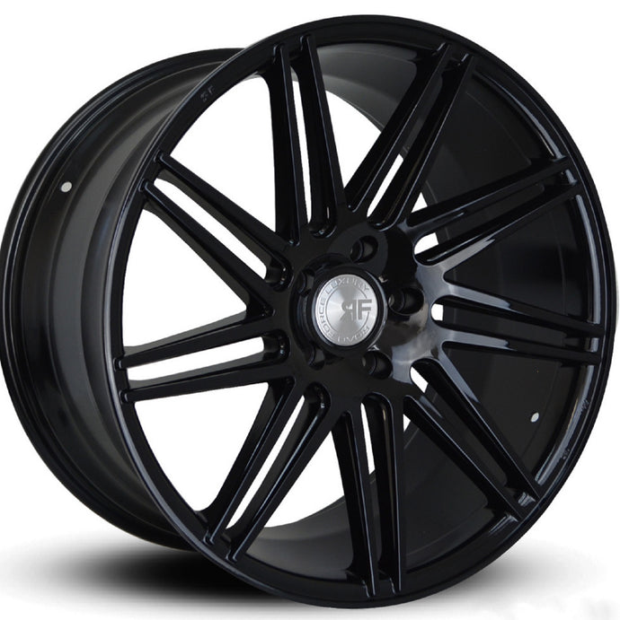 22x10.5 Road Force RF11 Black concave wheels rim by Kixx Motorsports https://www.kixxmotorsports.com