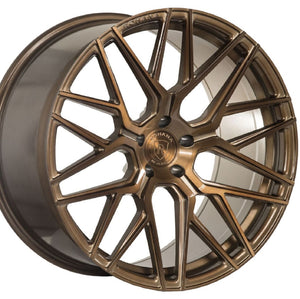 "20"" (Full Staggered Set) Rohana RFX10 20x10 20x12 Brushed Bronze Wheels (Rotary Forged)"