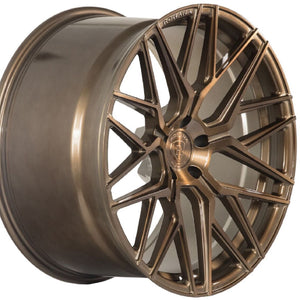 "20"" (Full Staggered Set) Rohana RFX10 20x10 20x11 Brushed Bronze Wheels (Rotary Forged)"