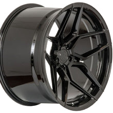 19/20 (Full Staggered Set) Rohana RFX11 19x9.5 20x12 Black Wheels (Rotary Forged)