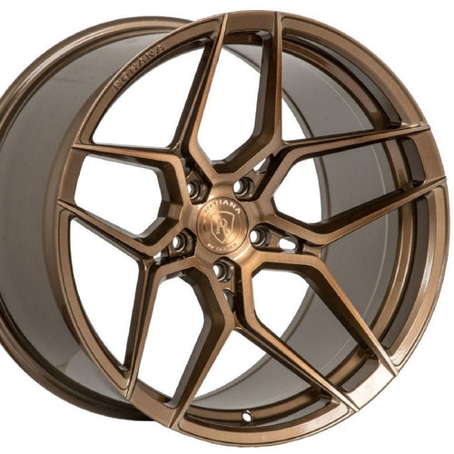 19/20 Rohana RFX11 Bronze forged wheels rims for Chevrolet Corvette C7 Z51 Stingray. By Kixx Motorsports www.kixxmotorsports.com
