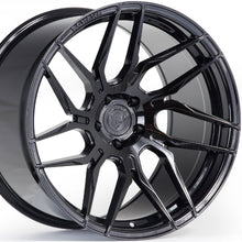 "19"" Rohana RFX7 Black Concave Rotary Forged Wheels by https://www.kixxmotorsports.com/products/20-full-staggered-set-rohana-rfx7-19x8-5-19x9-5-gloss-black-rotary-forged-wheels"