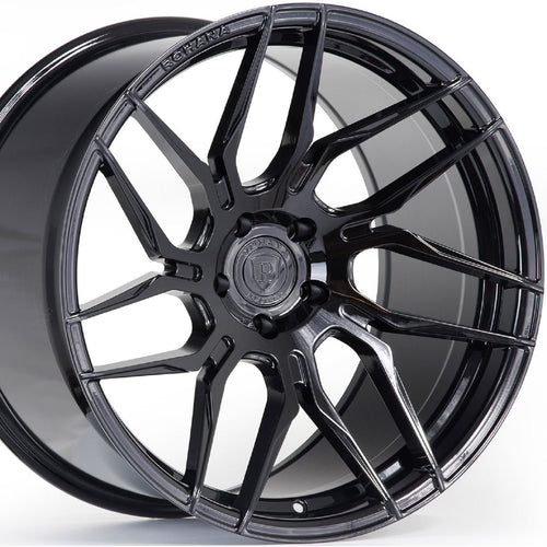 20x10 20x12 Rohana RFX7 Black Concave Rotary Forged Wheels by www.kixxmotors.com Authorized Dealer