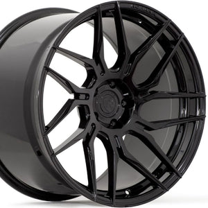 "19"" Rohana RFX7 Black Concave Rotary Forged Wheels https://www.kixxmotorsports.com/products/20-full-staggered-set-rohana-rfx7-19x8-5-19x9-5-gloss-black-rotary-forged-wheels"