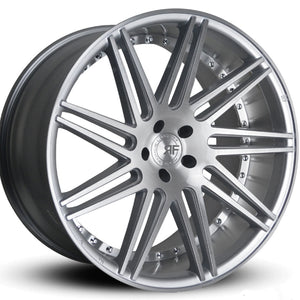 "22"" Road Force RF11 Silver concave wheels. 22x9 22x10.5 Staggered by Kixx Motorsports https://www.kixxmotorsports.com"