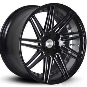 Road Force RF11 Machine Black concave wheels rims by Kixx Motorsports https://www.kixxmotorsports.com