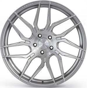 "19"" Rohana RFX7 Brushed Titanium Rotary Forged Concave Wheels by Authroized Dealer https://www.kixxmotorsports.com/products/19-full-staggered-set-rohana-rfx7-19x8-5-19x9-5-brushed-titanium-wheels-rotary-forged"