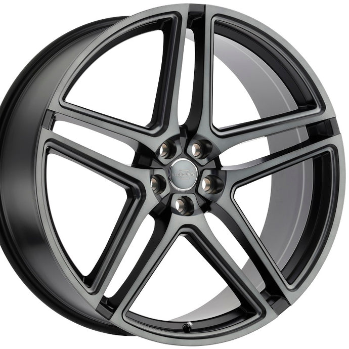22 inch Redbourne Crown Black with Tinted Face concave wheels rims for Land Rover Range Rover Sport, HSE, LR3; LR4. By Kixx Motorsports https://www.kixxmotorsports.com/products/22x10-redbourne-crown-matte-black-with-dark-tint-face-concave-wheels