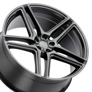 22x10 Redbourne Crown Black with Tinted Face concave wheels rims for Land Rover Range Rover Sport, HSE, LR3; LR4. By Kixx Motorsports https://www.kixxmotorsports.com/products/22x10-redbourne-crown-matte-black-with-dark-tint-face-concave-wheels