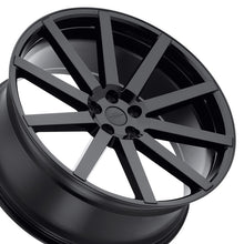 22 inch Redbourne Kinsington Gloss Black concave wheels custom rims for Land Rover Range Rover Sport, HSE, LR3. LR4. By Kixx Motorsports https://www.kixxmotorsports.com/products/22x10-redbourne-kensington-gloss-black-concave-wheel