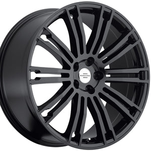 "22"" Redbourne Manor Black Concave Wheels rims for Land Rover Range Rover Sport, HSE, LR3. LR4. By Kixx Motorsports https://www.kixxmotorsports.com/products/22x9-5-redbourne-manor-gloss-black-wheel"