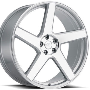 "24"" Redbourne Mayfair Silver Concave Wheels rims for Land Rover Range Rover Sport, HSE, LR3. LR4. By Kixx Motorsports"