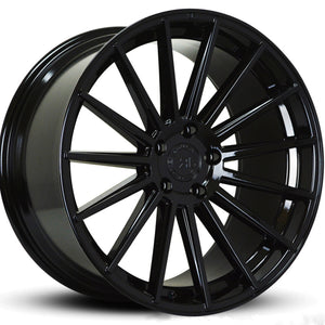 "20"" Road Force RF15 Black concave staggered wheels rims by Kixx Motorsports https://www.kixxmotorsports.com"