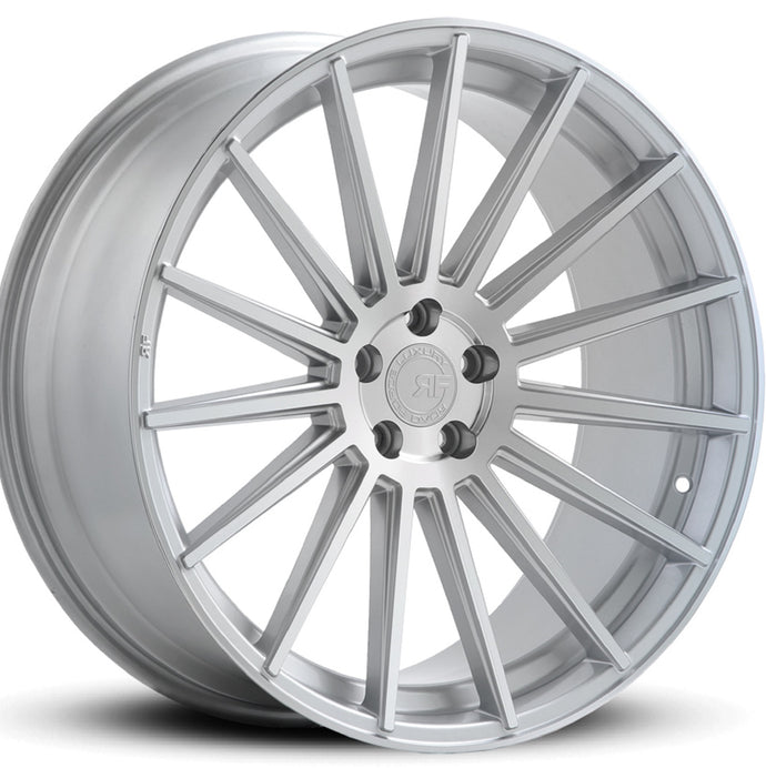 20x8.5 Road Force RF15 Silver concave wheels rims by Kixx Motorsports https://www.kixxmotorsports.com
