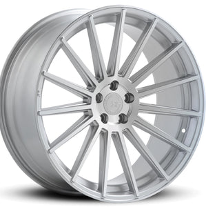 "21"" Road Force RF15 concave silver wheels, Staggered Rims by Kixx Motorsports https://www.kixxmotorsports.com"