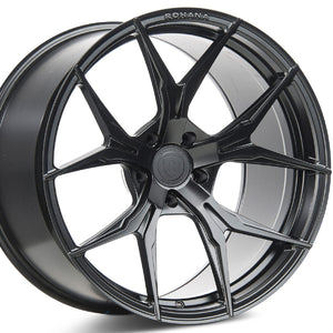 20x10 20x11 Rohana RFX5 Black Concave Wheels by www.kixxmotors.com Authorized Dealer