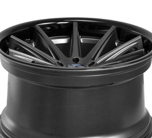 20x11 Rohana RC10 Graphite with Black Lip concave wheels rims for Audi A5 S5 by Kixx Motorsports https://www.kixxmotorsports.com/products/20x11-rohana-rc10-matte-graphite-w-gloss-black-lip-wheel 6