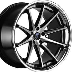"20"" Black/Silver Concave Wheels Rims https://www.kixxmotorsports.com/products/20-full-staggered-rohana-rc10-20x9-20x11-machined-black-w-chrome-lip-concave-wheels"