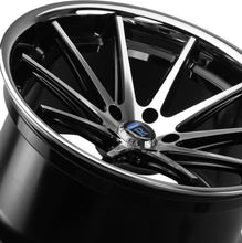 "22"" Rohana RC10 Machine Black concave wheels (Staggered) by Authorized Dealer https://www.kixxmotorsports.com/products/22-full-staggered-rohana-rc10-22x9-20x10-5-black-machined-w-chrome-lip-concave-wheels"