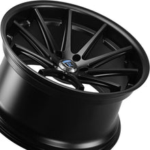 20x10 Rohana RC10 Matte Black Wheel