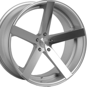 "22"" Rohana RC22 Machine Silver w/Chrome Lip concave wheels by Authorized Dealer https://www.kixxmotorsports.com/products/22x9-rohana-rc22-silver-machined-concave-wheel"
