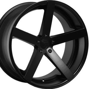 20x9 Rohana RC22 Matte Black Wheel