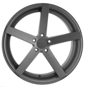 "20"" Gunmetal Concave Wheels Rims https://www.kixxmotorsports.com/products/20-full-staggered-rohana-rc22-20x9-20x10-matte-graphite-concave-wheels"