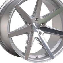 "20"" (Full Staggered) Rohana RC7 20x9 20x11 Silver Machined Concave Wheels"