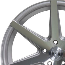 "20"" (Full Staggered) Rohana RC7 20x9 20x10 Silver Machined Concave Wheels"