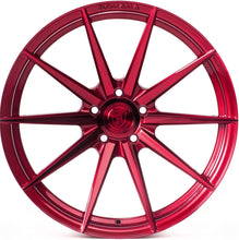 "20"" Rohana RF1 Gloss Red Concave Rotary Forged Wheels are on Sale by Authorized Dealer KIXX Motorsports www.kixxmotors.com"
