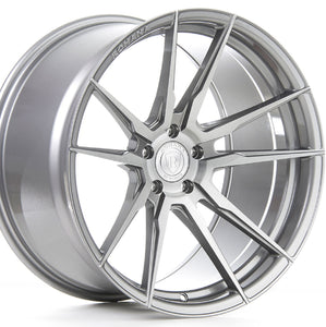 "19"" Rohana RF2 Titanium/Silver Concave Forged Wheels by Authorized Dealer KIXX Motorsports https://www.kixxmotorsports.com/products/19-full-staggered-set-rohana-rf2-19x8-5-19x9-5-brushed-titanium-wheels-rotory-forged"
