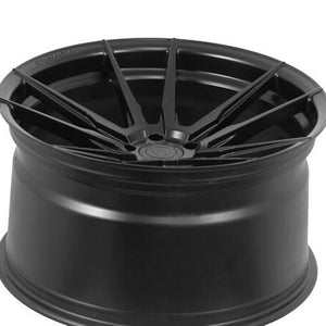 "20x9"" Rohana RF2 Matte Black Concave Wheels by www.kixxmotors.com Authorized Dealer"