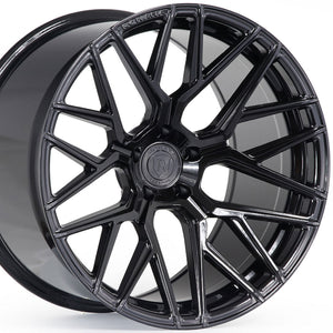 "20"" Rohana RFX10 Gloss Black Concave Forged Wheels by www.kixxmotors.com Authorized Dealer"