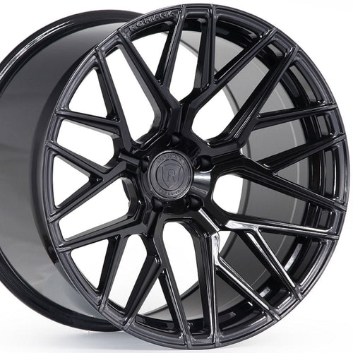 20x9 20x12 Rohana RFX10 Gloss Black Concave Forged Wheels by www.kixxmotors.com Authorized Dealer