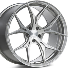 Rohana RFX5 Brushed Titanium Concave Forged Wheels by Authorized Dealer KIXX Motorsports