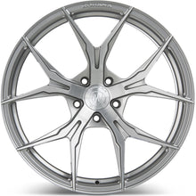 "20"" (Full Staggered Set) Rohana RFX5 20x10 20x12 Brushed Titanium Wheels (Rotary Forged)"