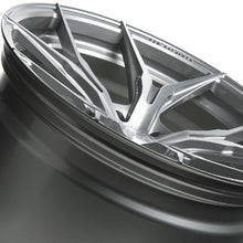 20x9 Rohana RFX5 Brushed Titanium Wheel (Rotary Forged)