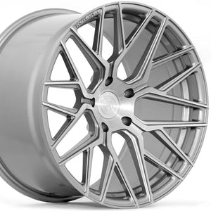 21x9 21x10.5 Rohana RFX10 Brushed Titanium Concave Rotary Forged Wheels Rims on Sale by KIXX Motorsports www.kixxmotors.com
