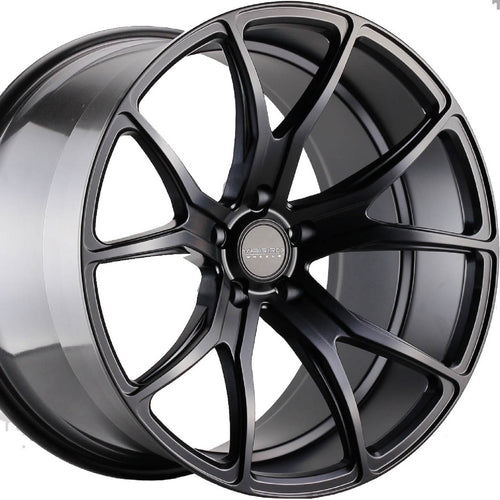 22x10.5 Varro VD01 Black concave wheels rims by Authorized Dealer Kixx Motorsports https://www.kixxmotorsports.com 3