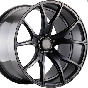 "19"" Varro VD01 Black concave wheels rims by https://www.kixxmotorsports.com 3"